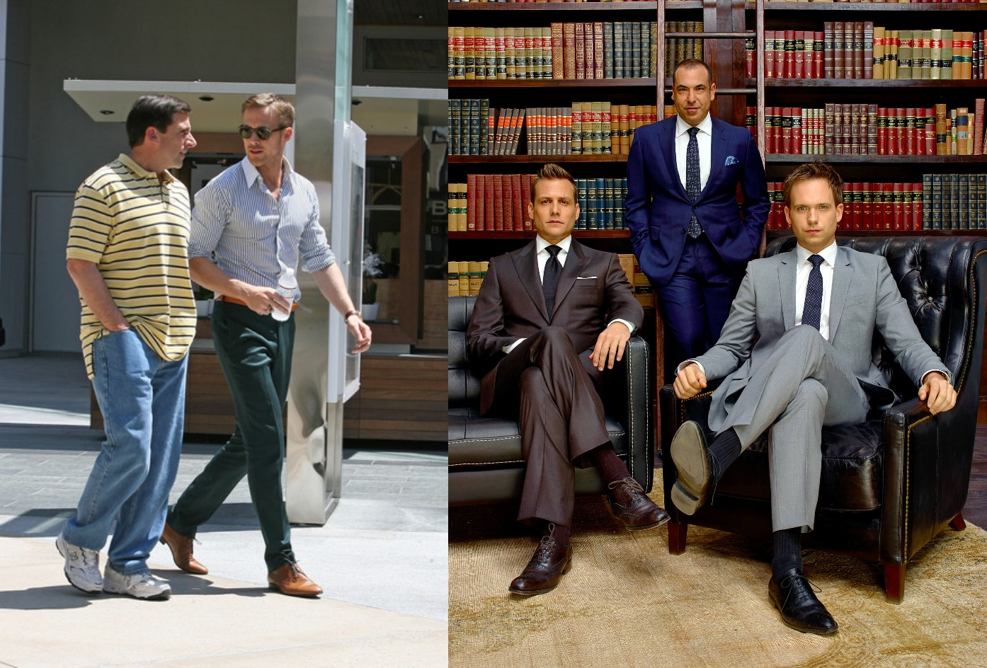 The movies that give me inspiration about SUITS the most