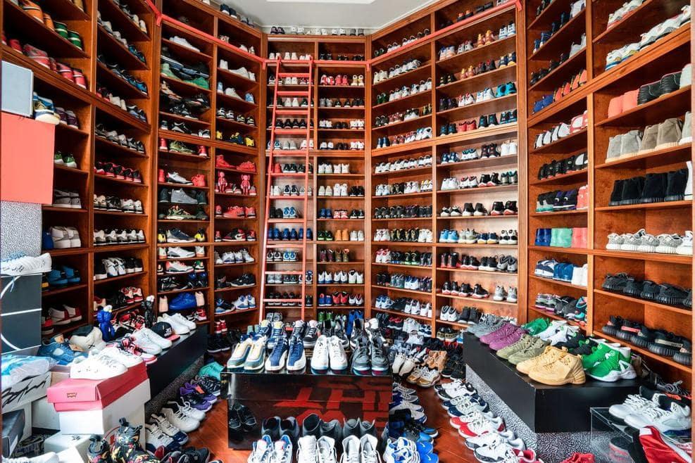 """Điểm danh những """"ĐẠI GIA"""" với bộ sưu tập sneakers thuộc hàng KHỦNG nhất thế giới"""