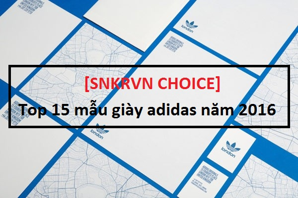 [SNKRVN CHOICE]  15 of the greatest adidas releases of 2016