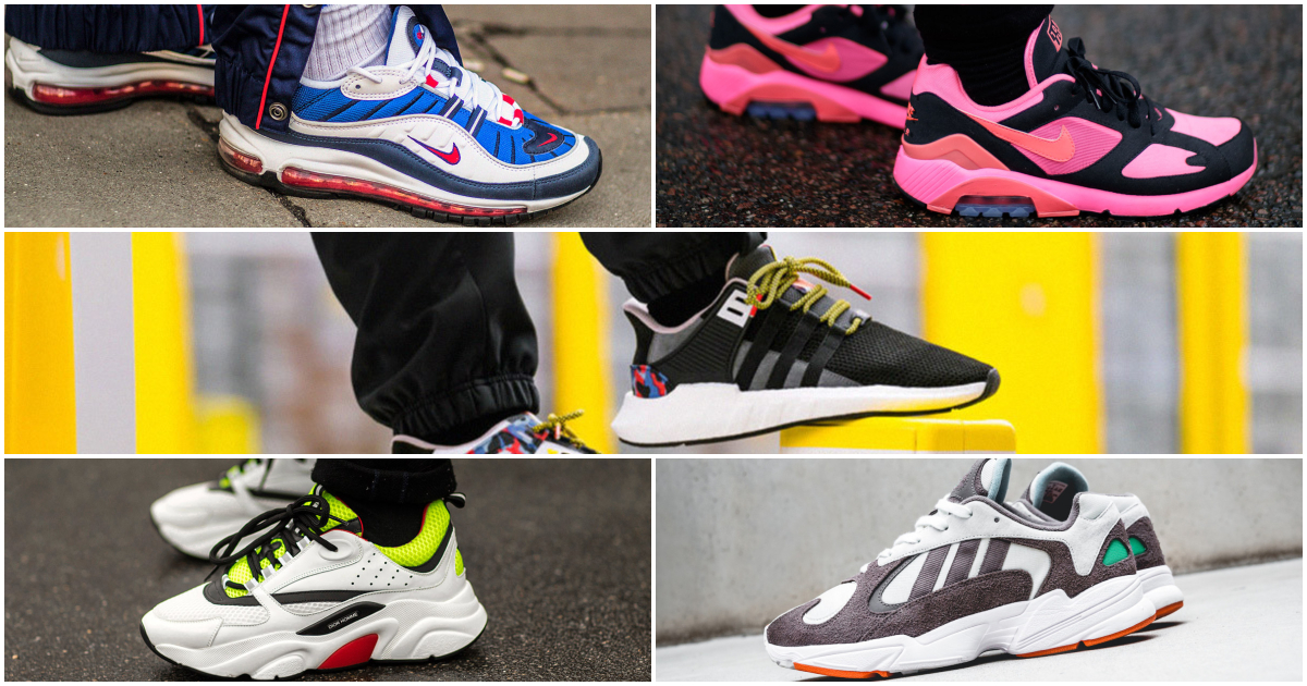 Top best sneakers of 2018 (P1)