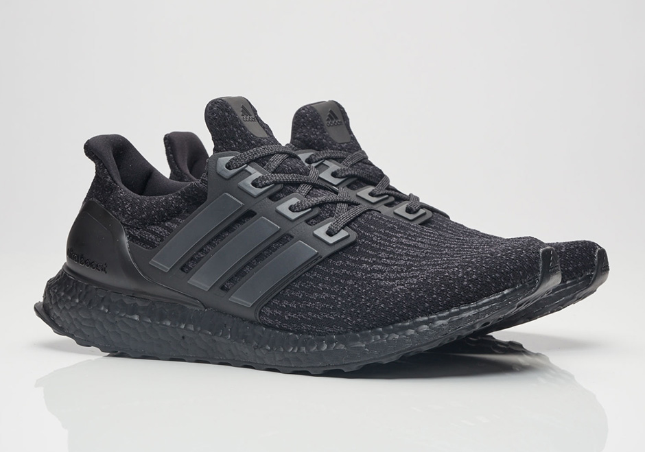 "adidas Ultra Boost 3.0 ""Triple Black"" officially launched"