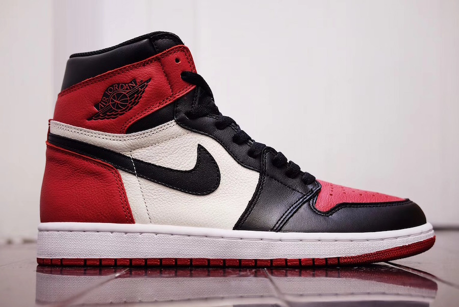 Air Jordan 1 Retro High OG 'Bred Toe' will be available in February next year