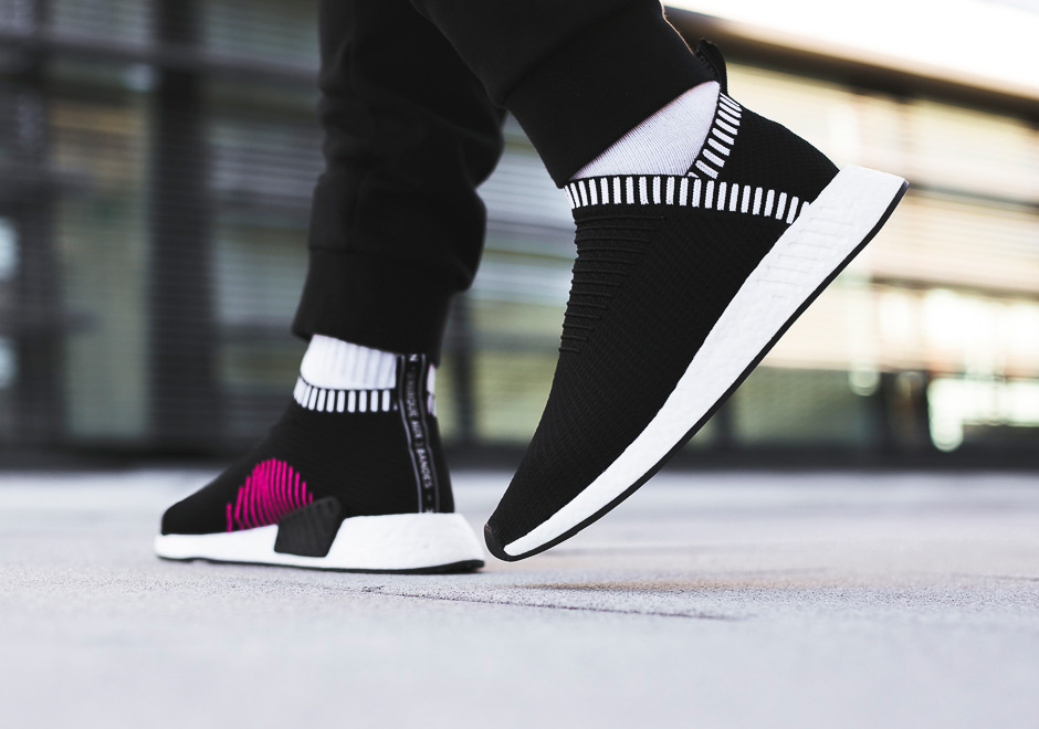 Another adidas NMD City Sock 2 color appears
