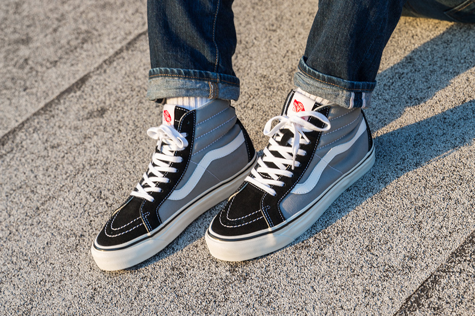 Be enthralled with the Vans original line inspired by the first Vans factory