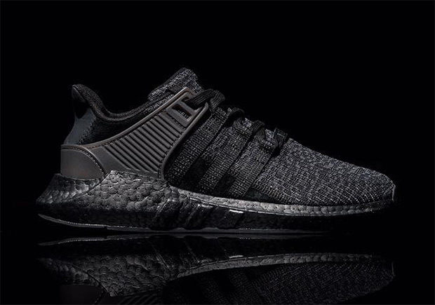 """adidas EQT 93/17 BOOST """"Triple Black"""" to be released on """"Dark Friday"""""""