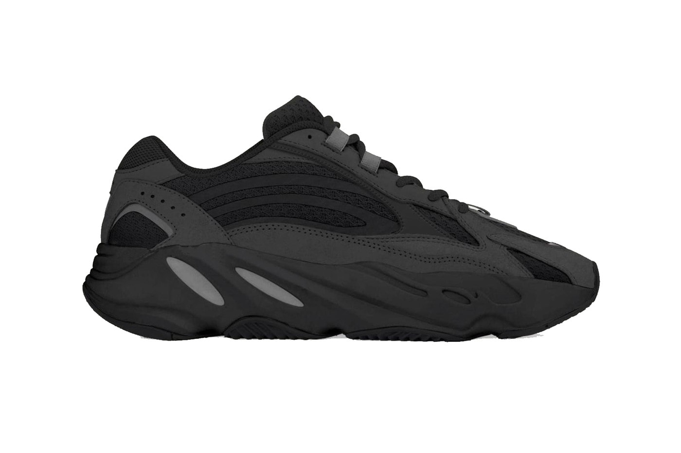 "adidas Yeezy Boost 700 ""Vanta"" - The world's darkest black color scheme"