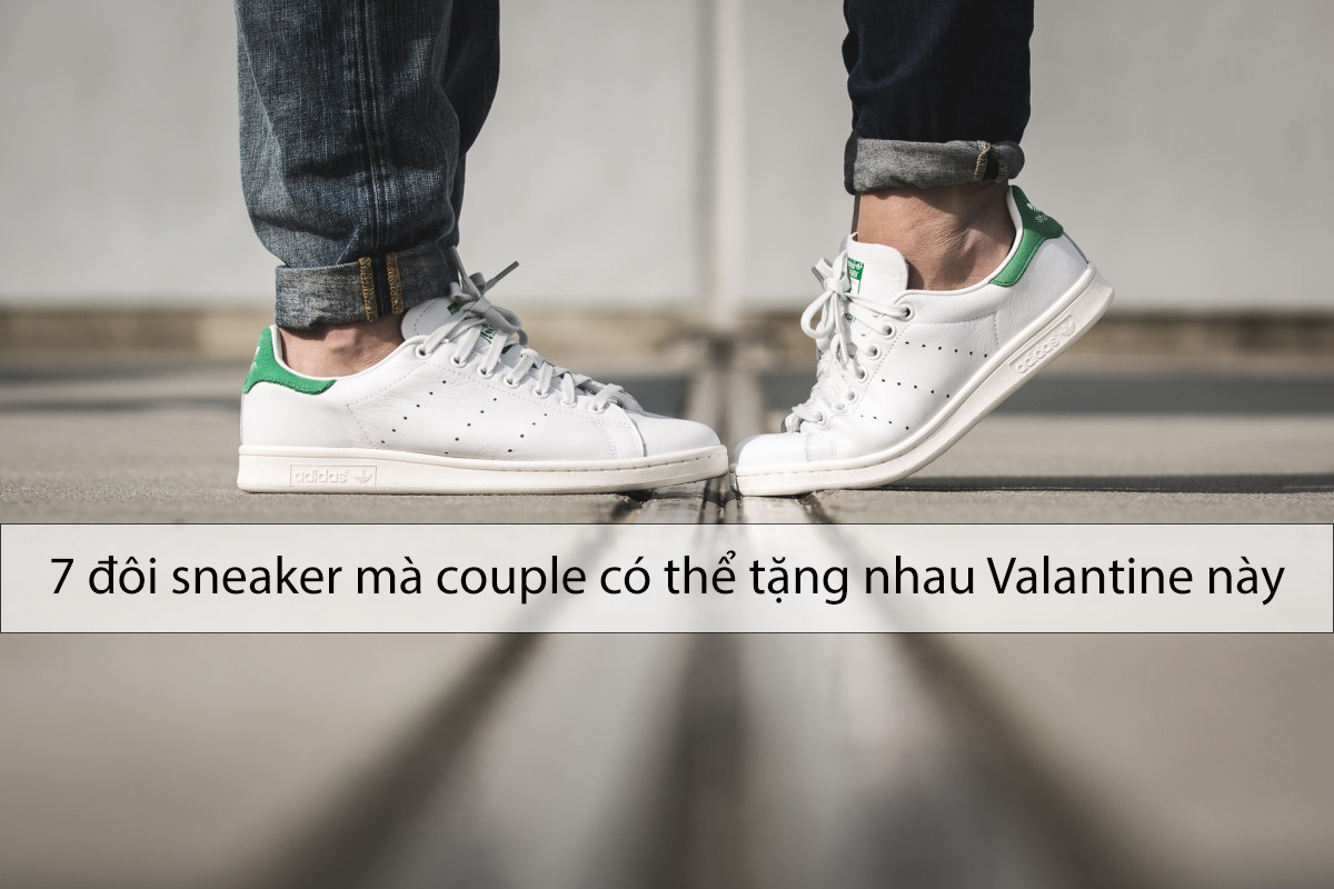 7 sneakers that couple can give each other this Valentine