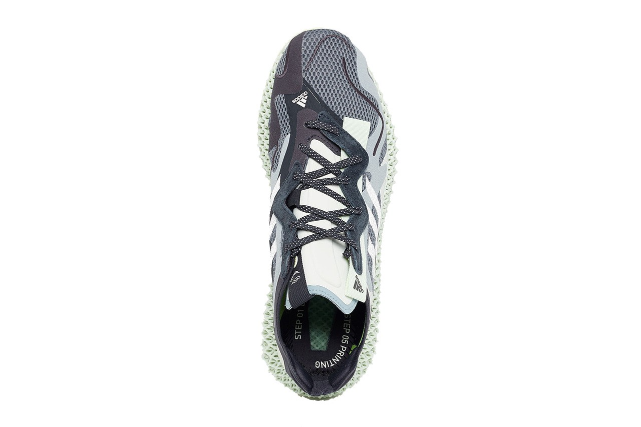 Appearing adidas Consortium Runner 4D V2 with strange appearance