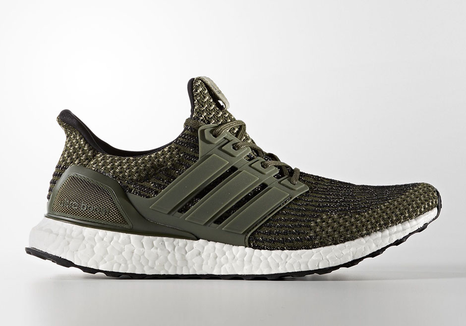 adidas Ultra Boost 3.0 mildly modified 'Trace Cargo'