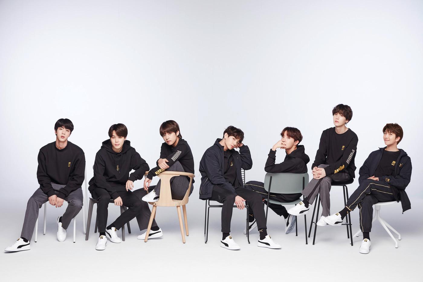 PUMA bắt tay với BTS cho dòng giày bóng rổ mang dấu ấn K-Pop