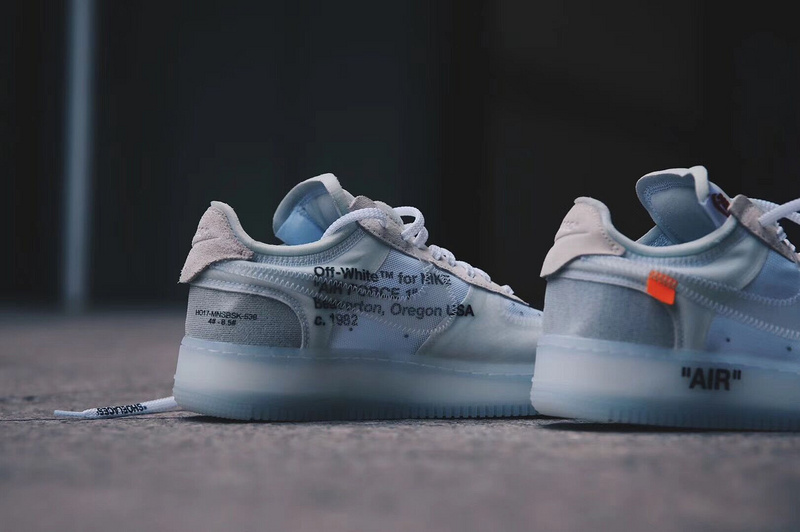 """Review Off-White x Nike Air Force 1 in the original """"The Ten"""" collection"""