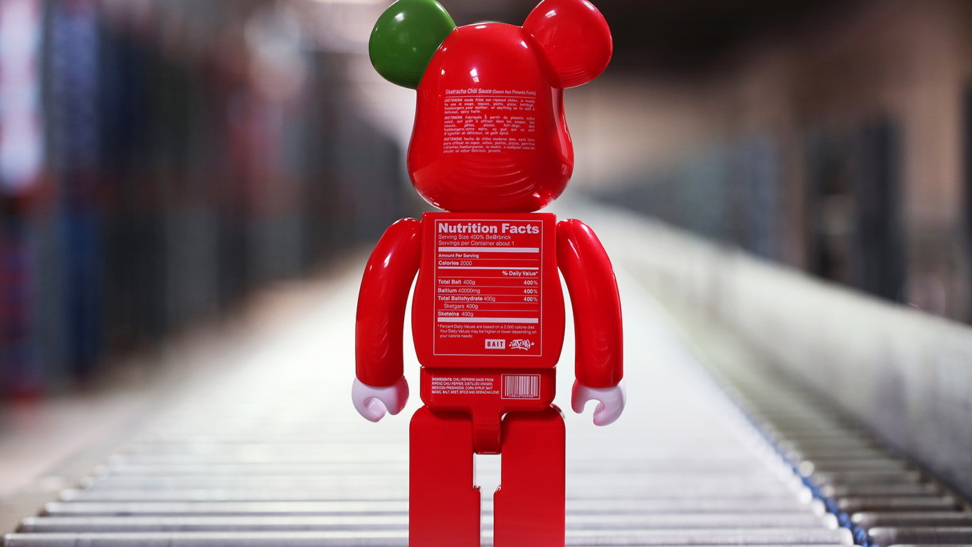 Top 1000% most expensive Bearbrick versions ever (P1)