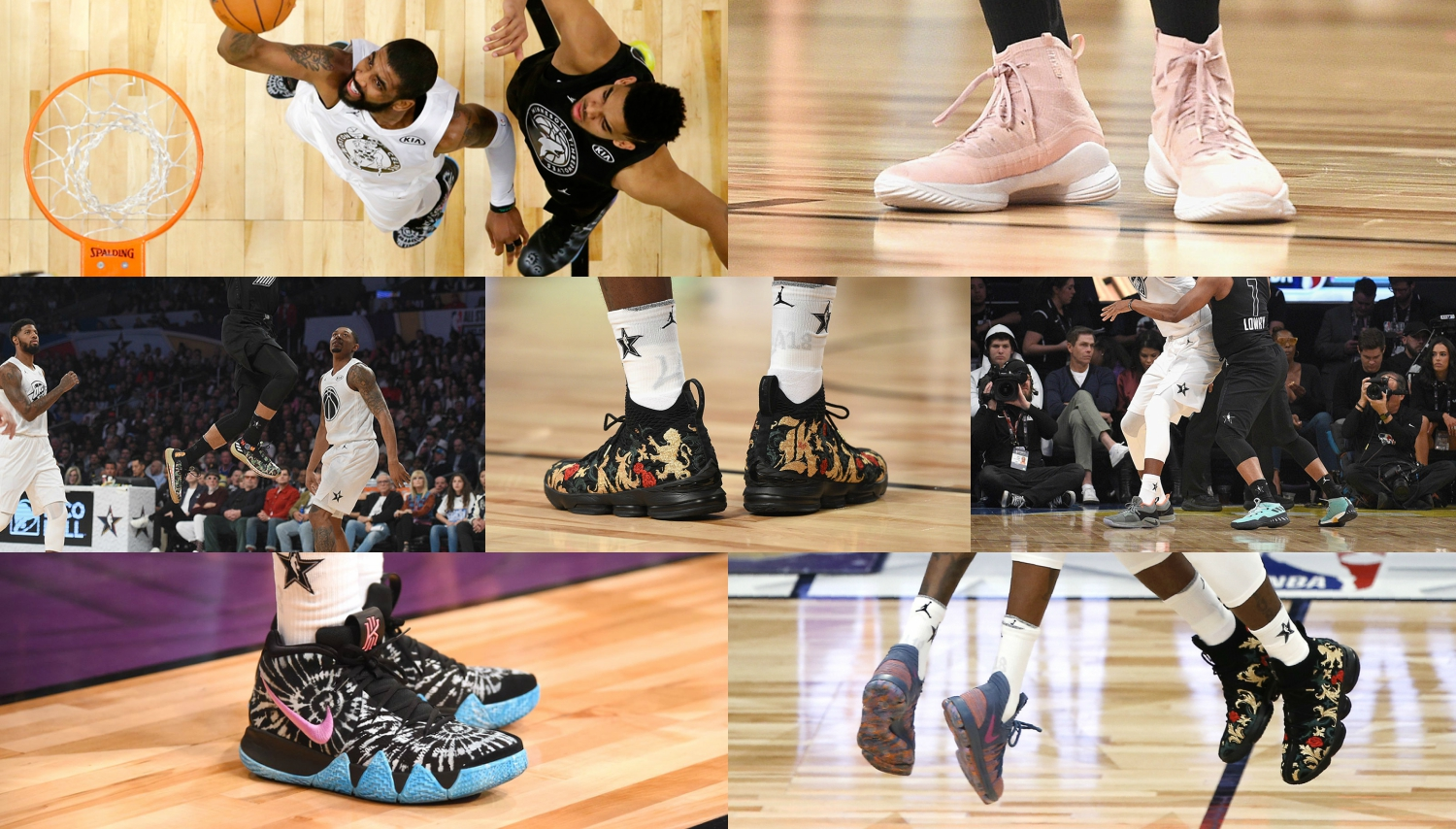 Top the most notable sneakers of NBA All-Star 2018 season?