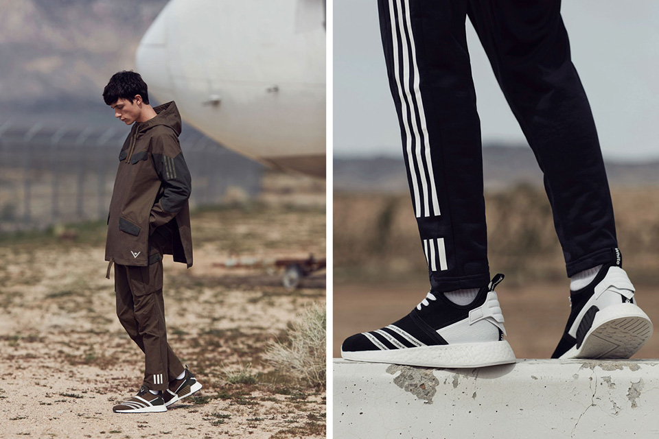 Announced the latest images from the Fall / Winter 2017 collection of White Mountaineering x adidas