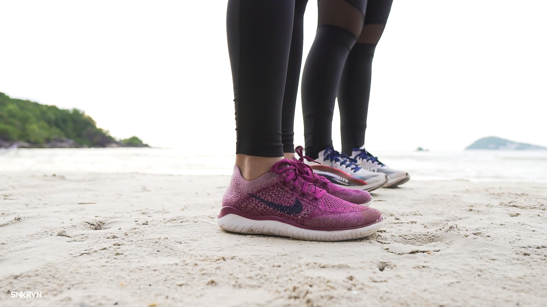 Experience your Nike Free RN Flyknit 2018 for the first time as a toddler
