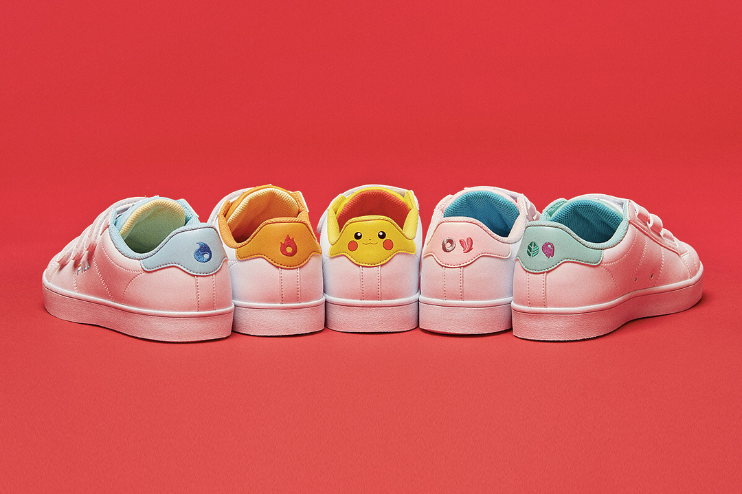 Go catch Pokemon with the new FILA Court Deluxe collection