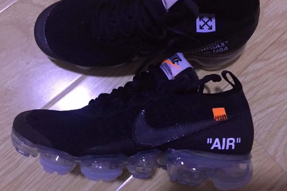 Leaked image of BST The Ten 2 from Nike x OFF-WHITE
