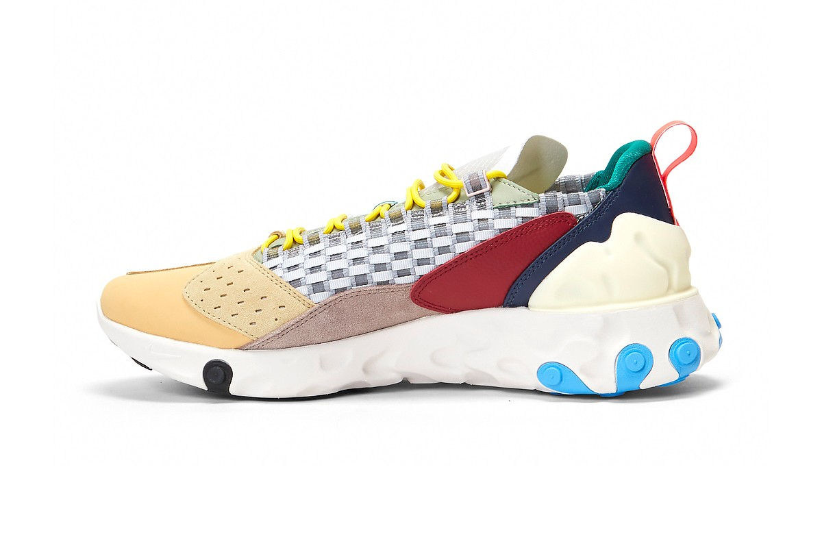 Nike Revamp React Sertu adds color schemes to