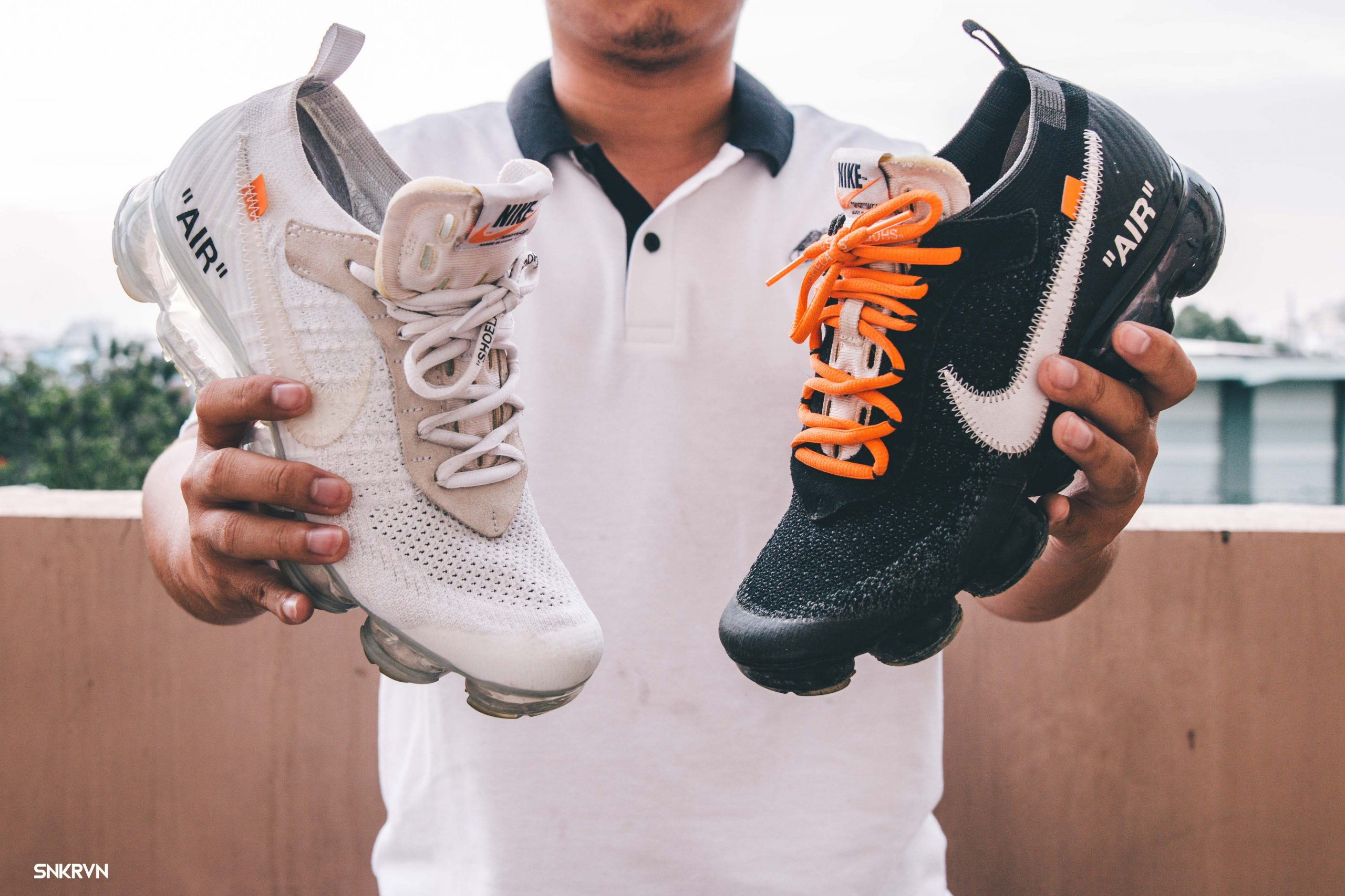 Off-White x Nike Air Vapormax - black couple prince of the hypebeast world
