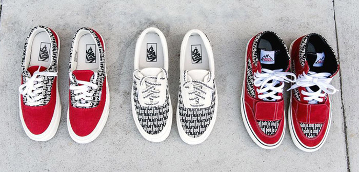 Set the release date of the Vans x Fear Of God shoe collection