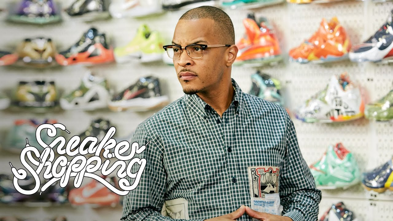 Whatever You Like - Rapper TI likes to buy on show Complex: Sneaker Shopping